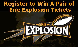 Erie Explosion Tickets